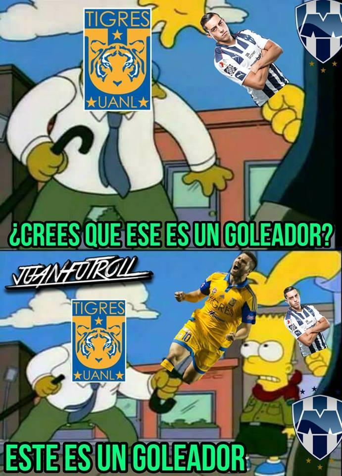 Estadisticas Liga Mx 2017 >> Los mejores memes del Tigres vs Rayados