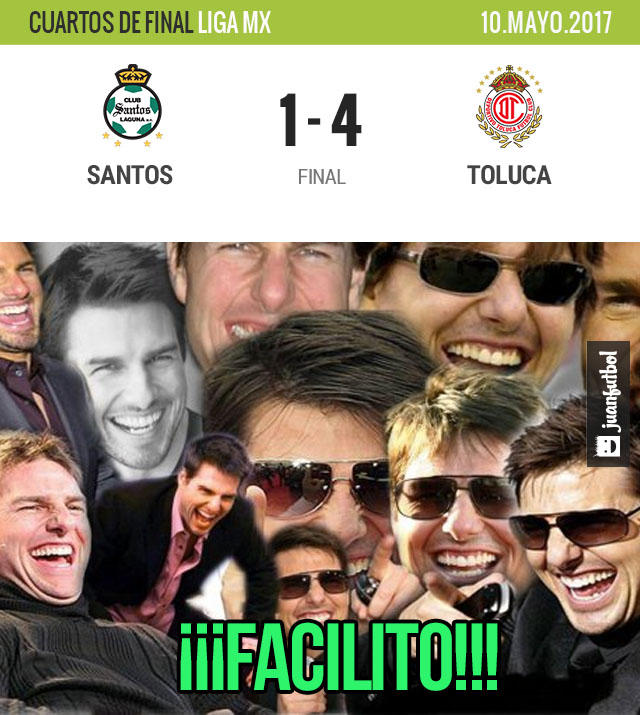 Toluca no tuvo piedad de Santos