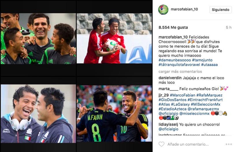 Recordó los momentos junto con su compi en la Selección Nacional
