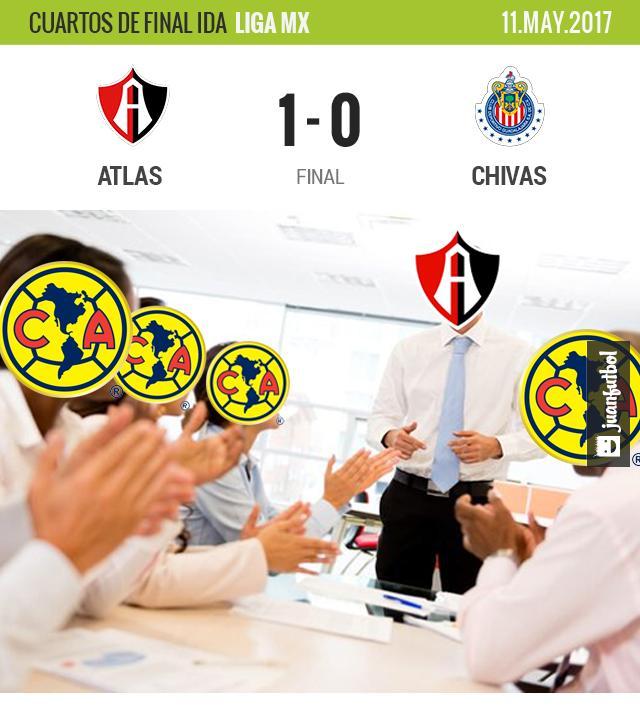 El Chavo Alustiza metió de penal el gol del Atlas