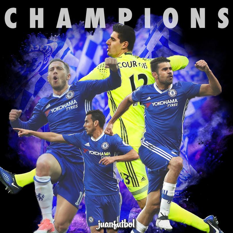 ¡Conte lo logró! Chelsea es el Campeón de la Premier League