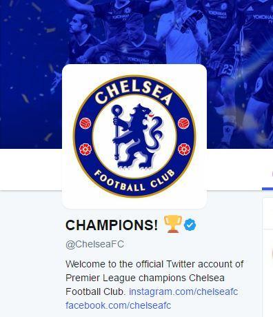El nuevo nombre del Chelsea en Twitter