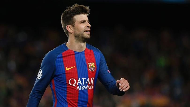 El Barcelona no podrá contar con Piqué para el partido de la penúltima jornada de mañana contra Las Palmas de visita.