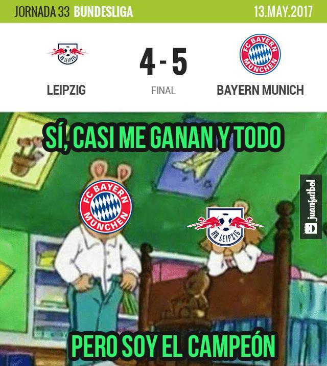 Bayern Munich vence al Leipzig