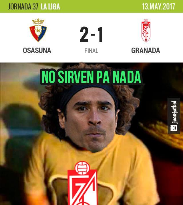 Granada perdió
