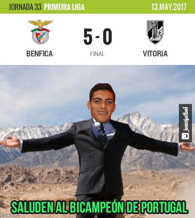 Benfica es bicampeón de Portugal