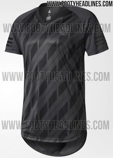 El jersey totalmente negro del Real Madrid