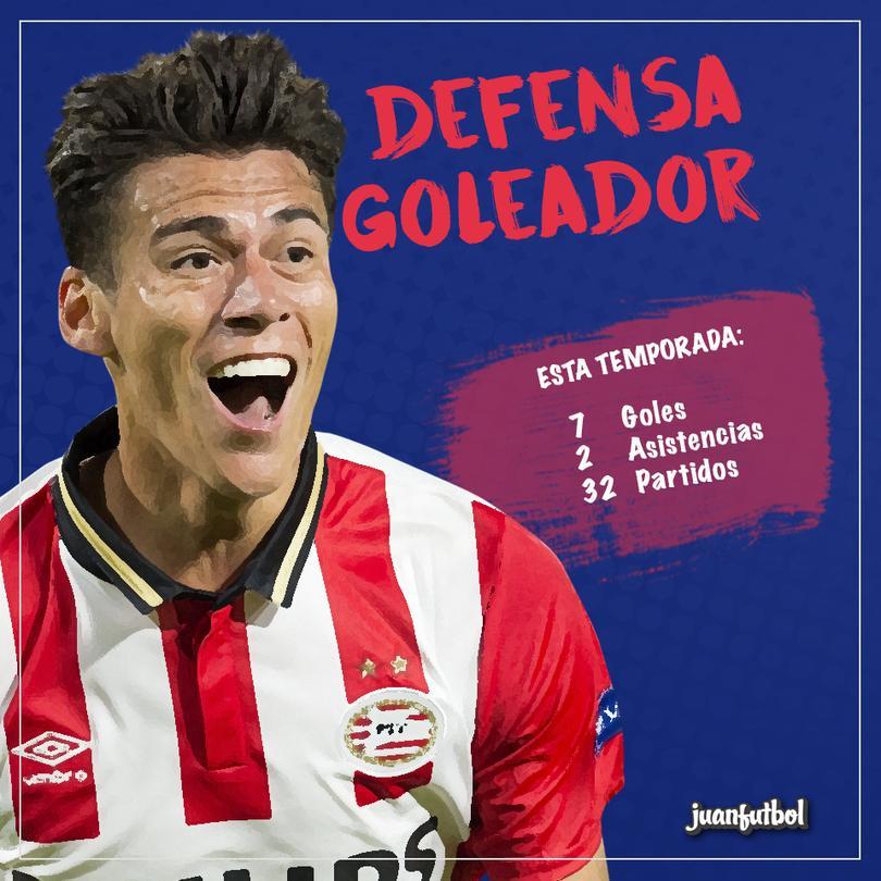 Moreno se luce con el PSV.