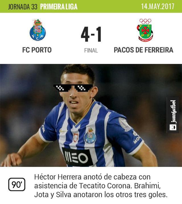 Herrera anotó para el Porto.