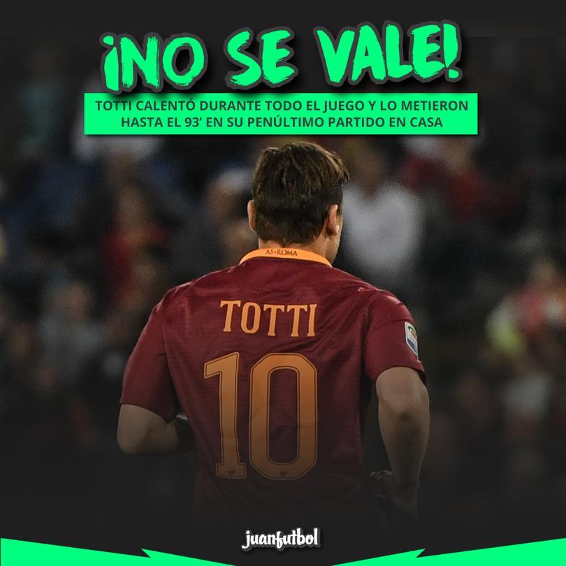 El 28 de mayo es su último juego en el Olímpico de Roma y ya no hay boletos