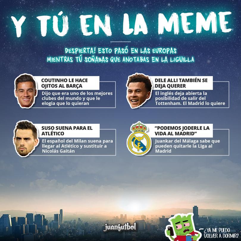 Así las cosas en el futbol europeo