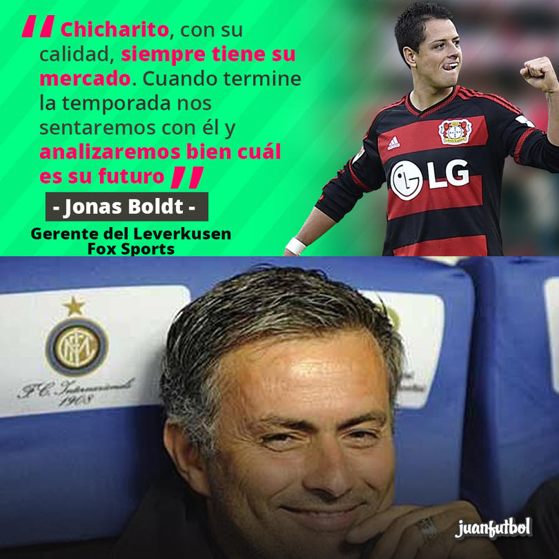 El Bayer Leverkusen analizará la situación de Javier Hernández