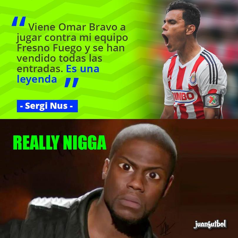 Sergi Nus afirma que Omar Bravo es una leyenda.