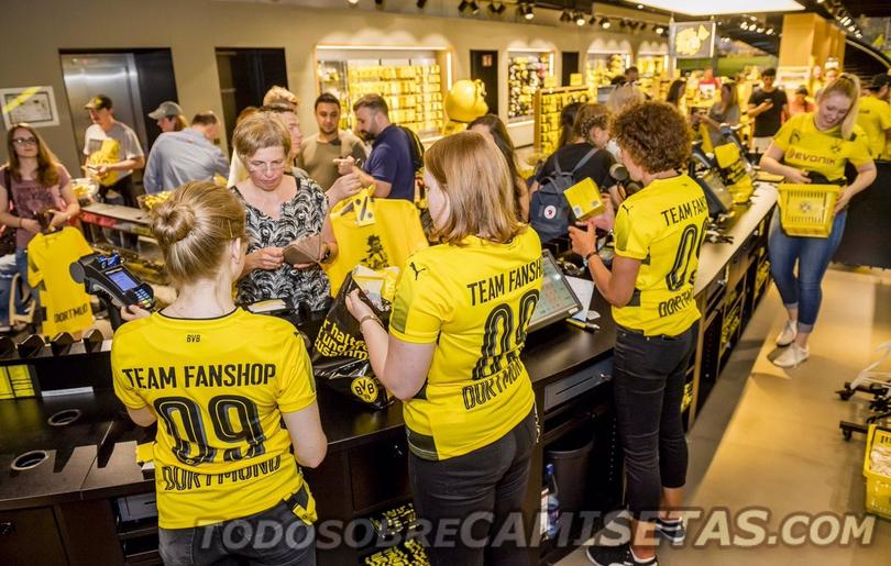 El nuevo jersey del Borussia Dortmund