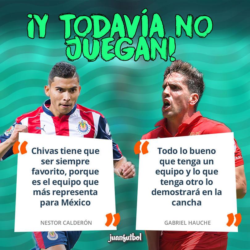 Claderon y Hauche la prendieron el juego entre Toluca y Chivas