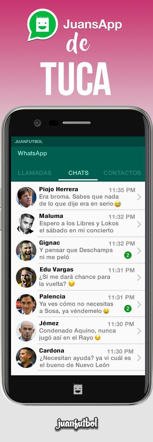 El Whatsapp del Tuca