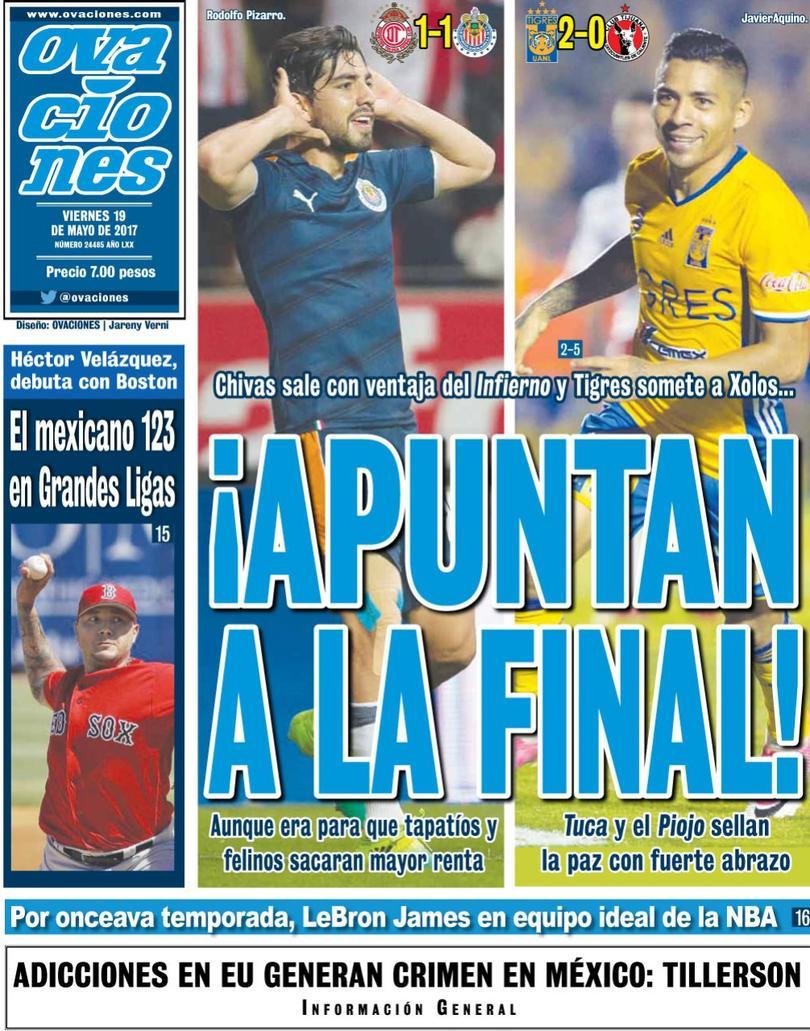 Así amanecieron las portadas de los diarios deportivos en México y el mundo