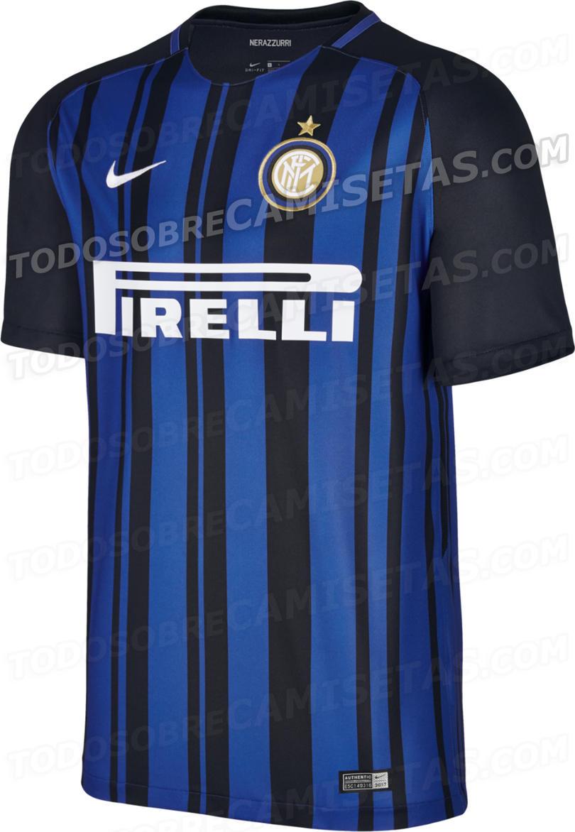 Todo Sobre Camisetas filtró la camiseta del Inter para la próxima temporada