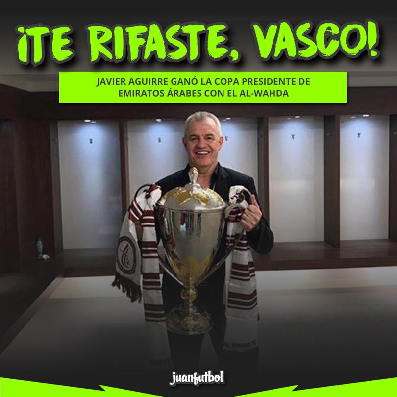 El Vasco ganó la Copa Presidente de Emiratos Ärabes