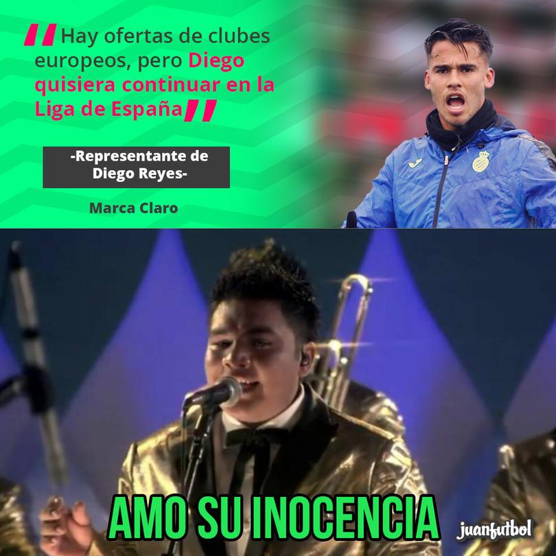 Diego Reyes no se va de España