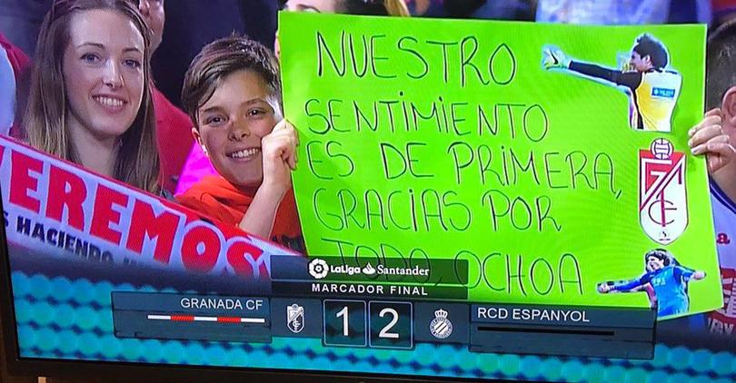 No todo fue malo para Ochoa en el Granada