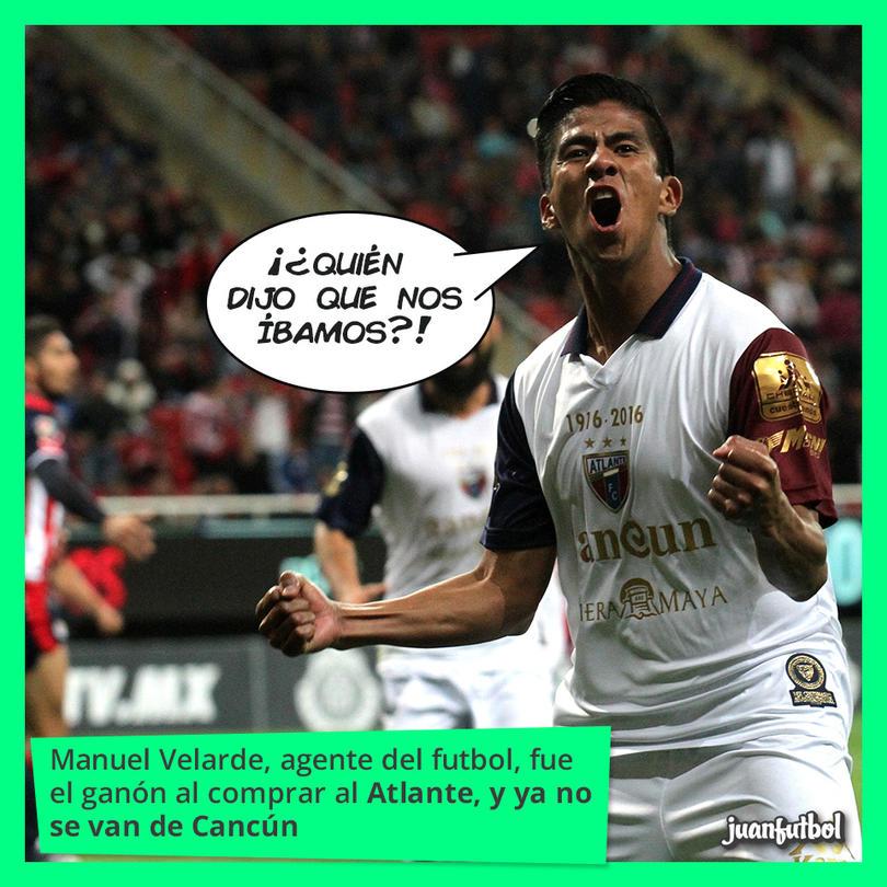 Fernando Herrera, tras un gol de Atlante