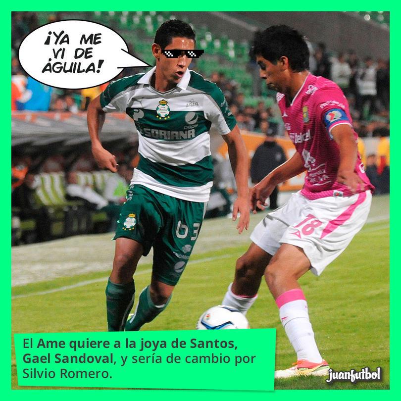 El jugador de Santos es de la Sub-20