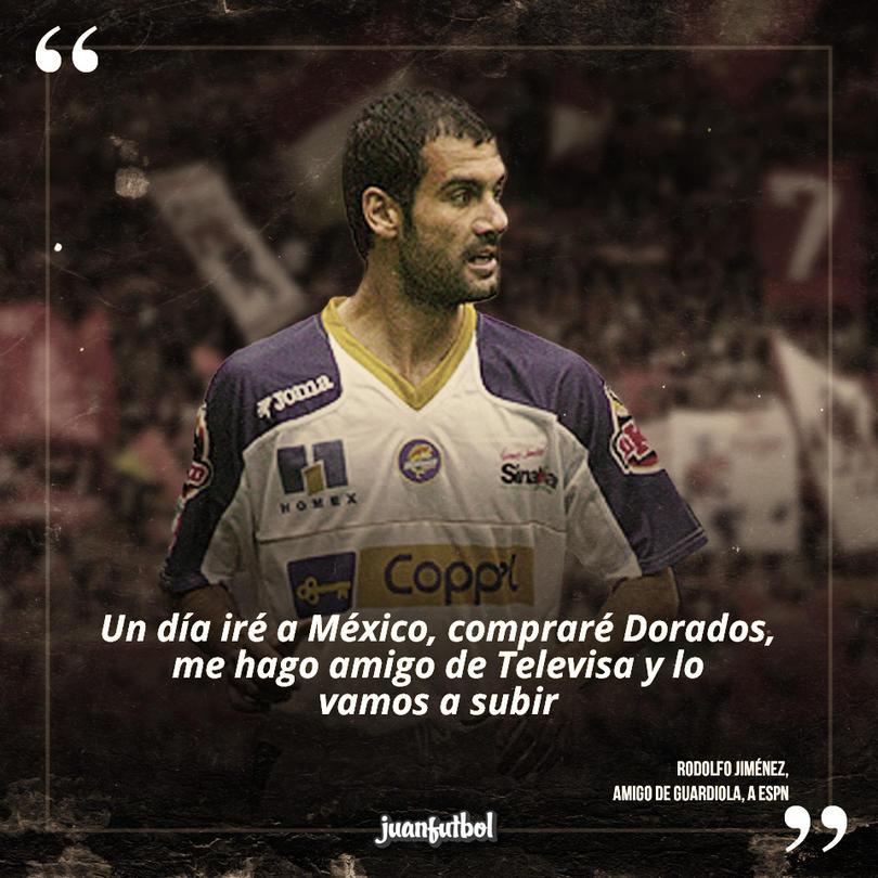 La época de Guardiola como jugador de Dorados