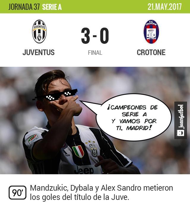 La Juve gana su segundo título del año y va por el triplete