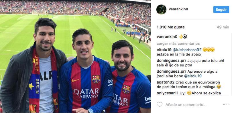 Lalo Herrera, Van Rankin y Alan Mendoza presumieron en Instagram su viaje a las Europas