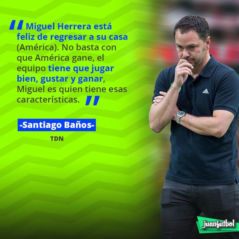 Santiago Baños, Presidente Deportivo del Ame