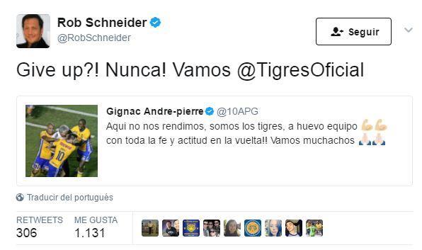 Rob Schneider en Twitter