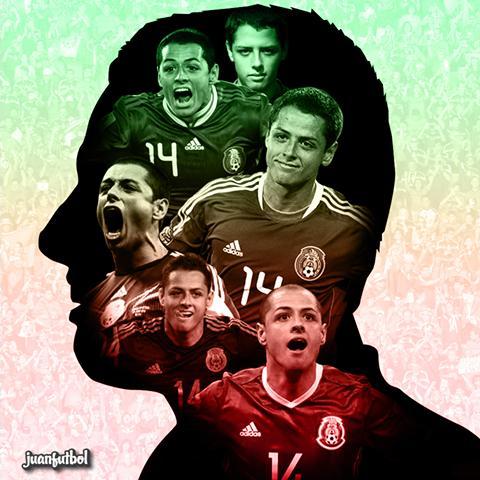 Javier Hernández es el máximo goleador del Tri