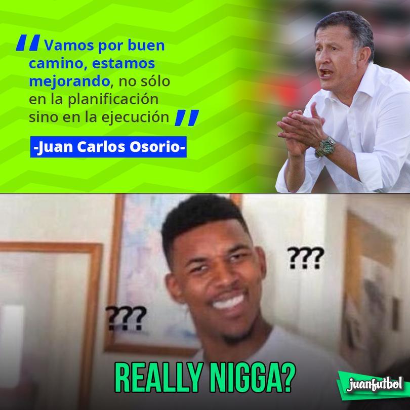 Osorio tras la derrota de 2-1 con Croacia