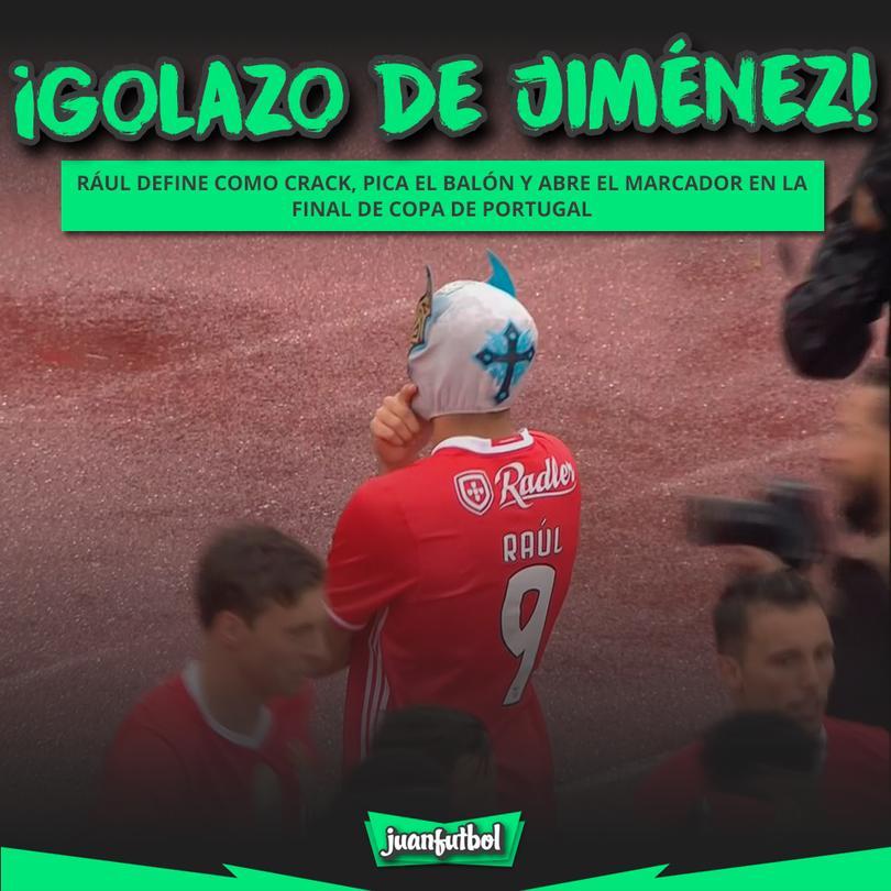 Jiménez se podría coronar campeón de Portugal.