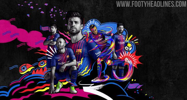 Presentan la nueva playera del Barça