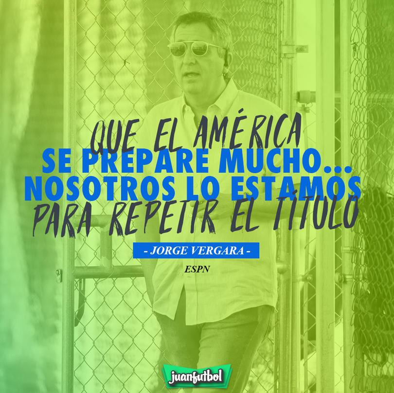 Jorge Vergara mandó este mensaje al América después de ganar el título 12