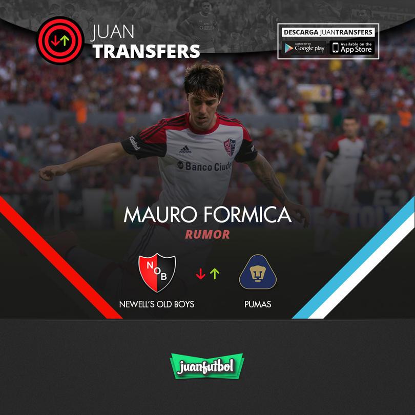 Mauro Formica está en la órbita de los Pumas