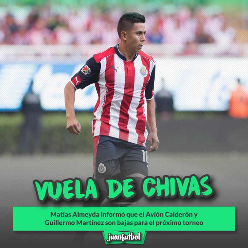 Néstor Calderón ni seguirá en Chivas