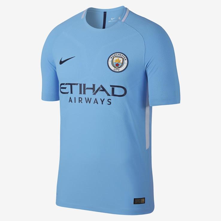La nueva camiseta del Manchester City.