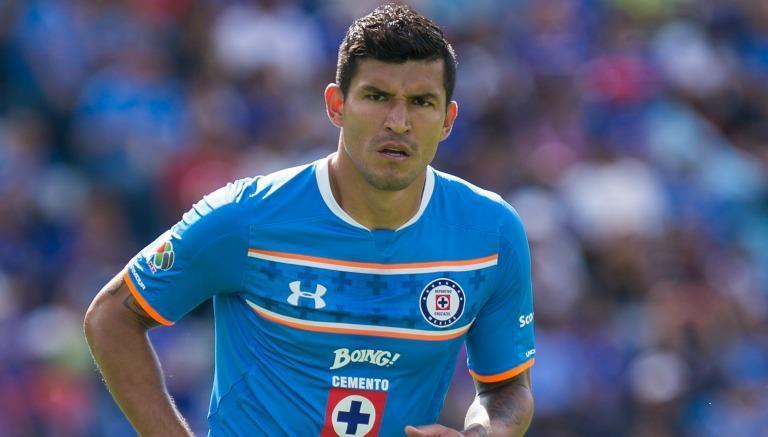 Francisco Javier Rodríguez con Cruz Azul