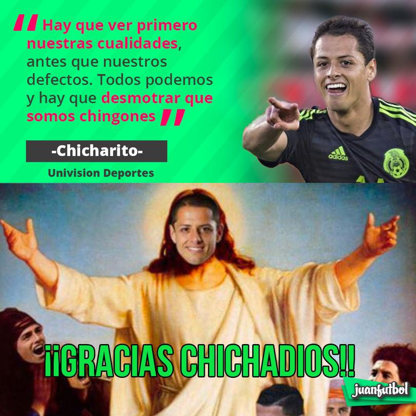 Chicharito, el goleador de la Selección Mexicana