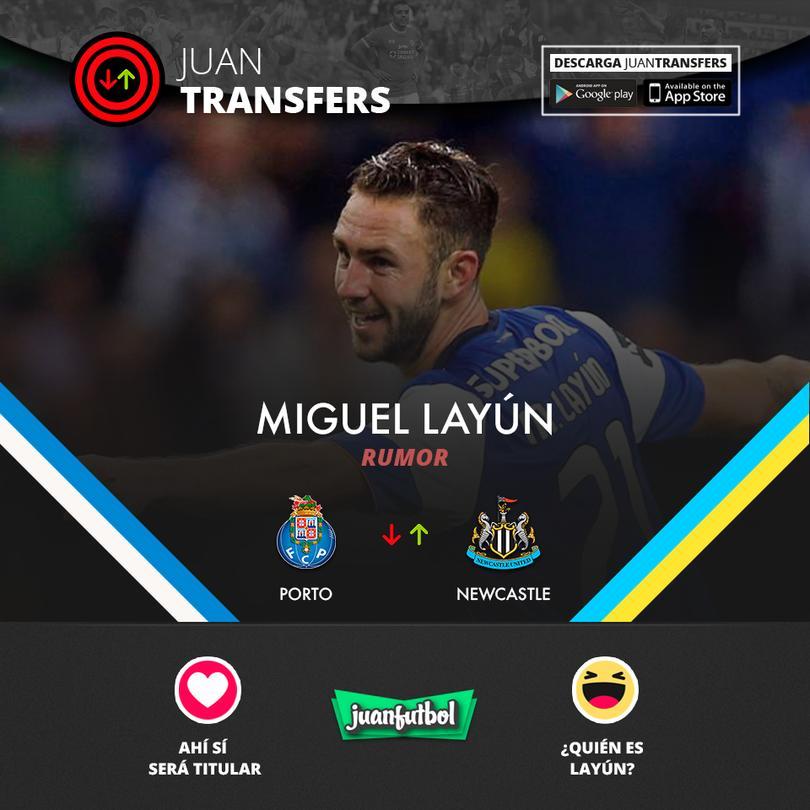 Layan podría fichar por el Newcastle.