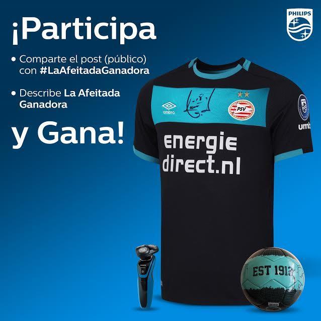 ¡Gánate una playera firmada del PSV por Andrés Guardado con Philips y yo! Sólo sigue los pasos y ya puedes ganar.