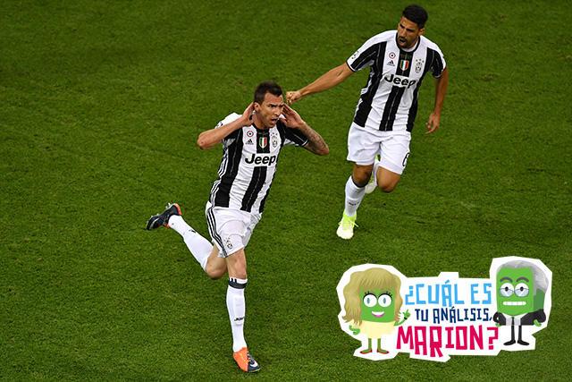 Mandzukic anotó uno de los mejores goles en la historia de la Champions