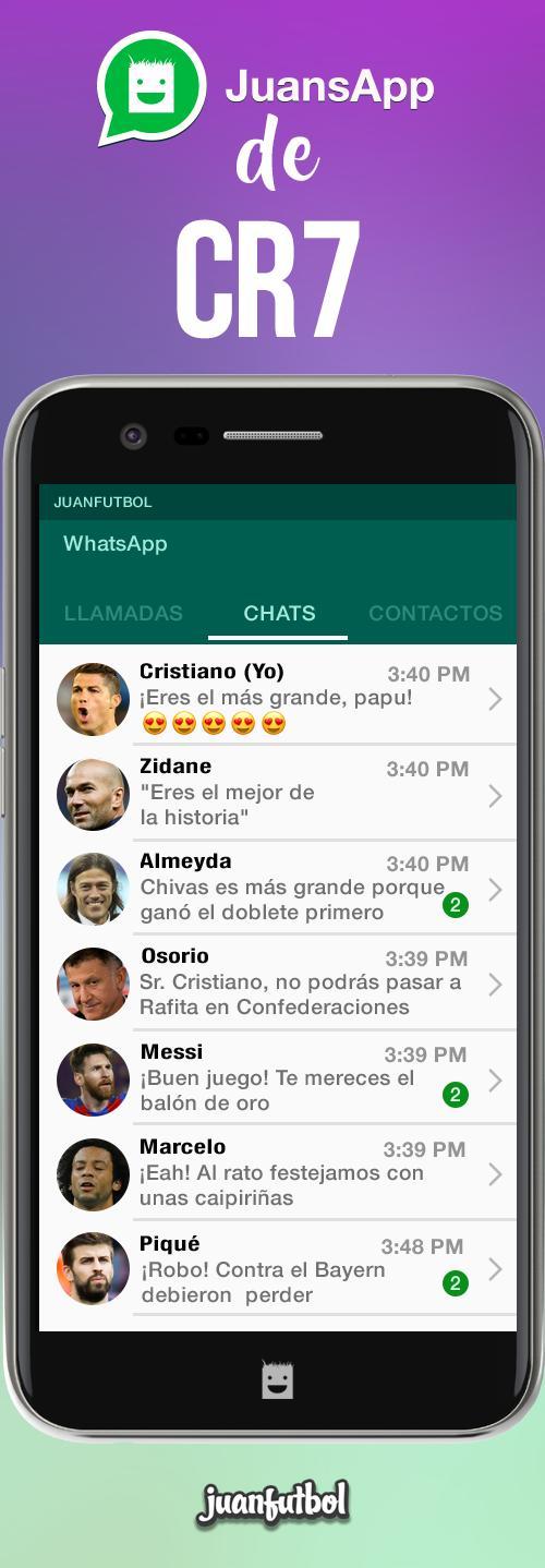 El JuansApp de Cristiano luego de ganar la Orejona