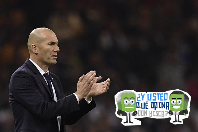 Zidane hizo historia en la Champions League