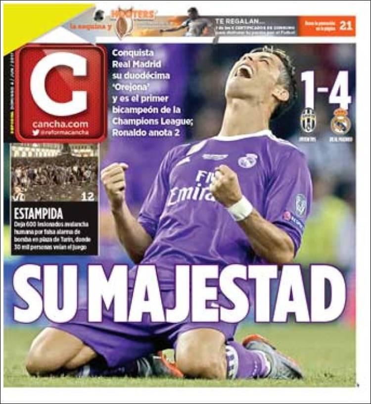 La prensa deportiva más importante del día 4 de junio del 2017.