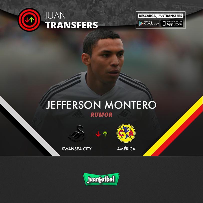 Jefferson Montero llegaría al América.