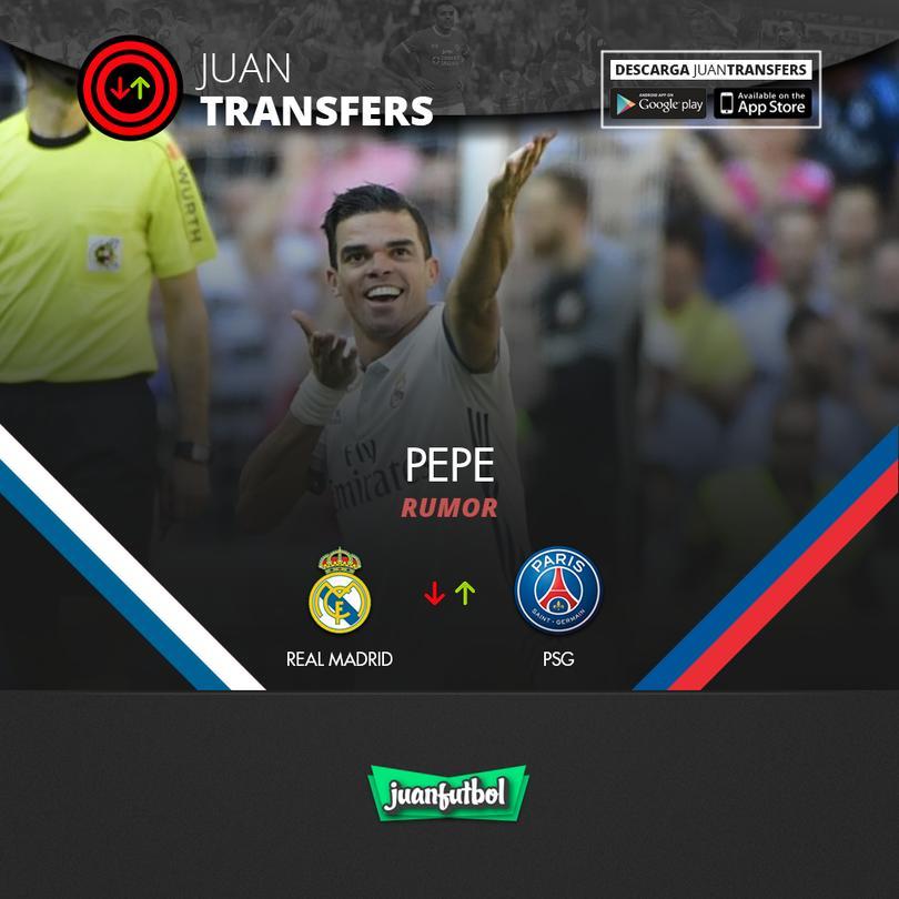 Dicen que Pepe ya está arreglado con el PSG